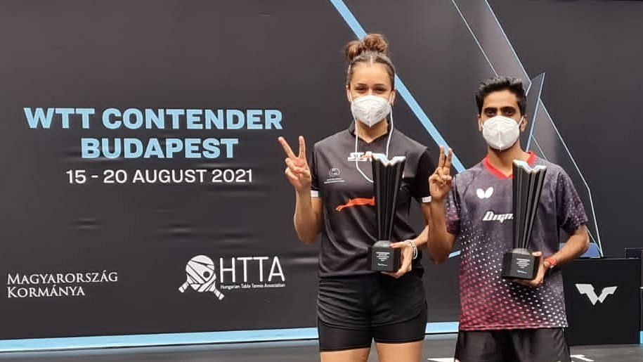 Manika Batra, G Sathiyan Win Mixed Doubles Title in Budapest