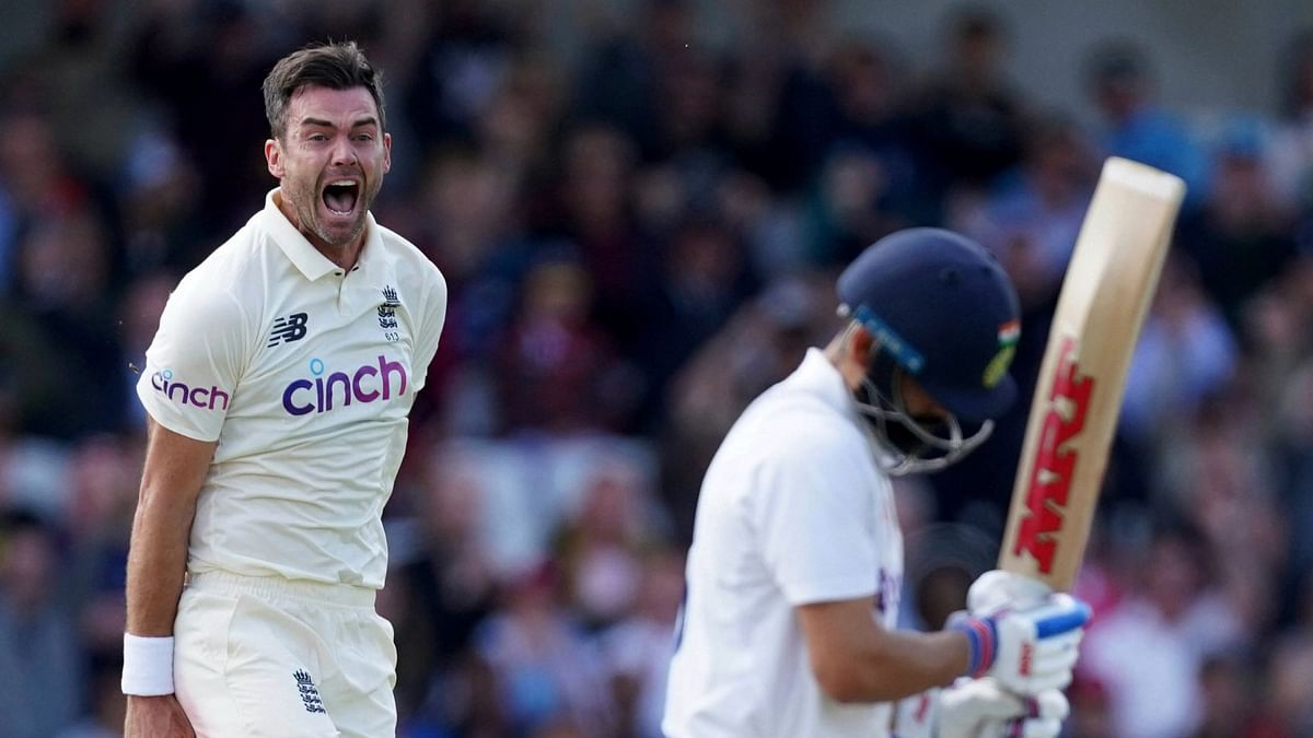 3rd Test, Day 1: KL Rahul, Pujara & Virat Out to Anderson; India 56/4 at Lunch
