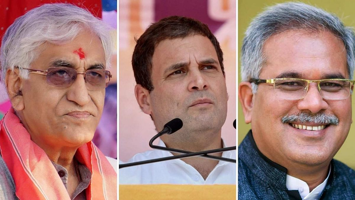 Baghel, Deo Meet Rahul Gandhi, But No Discussion Held on Leadership Change