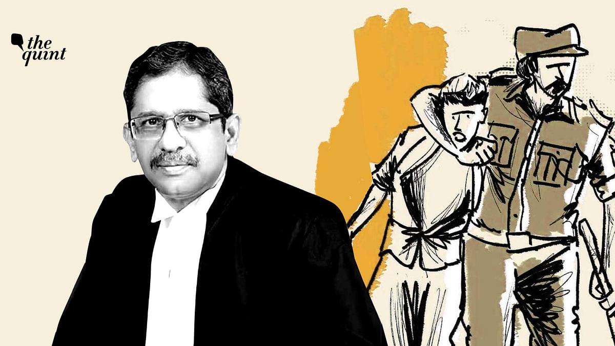 "<div class=""paragraphs""><p>CJI NV Ramana spoke about police atrocities in a recent speech.</p></div>"