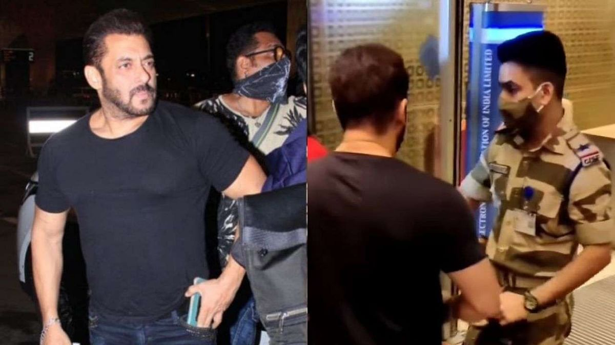 Officer Who Stopped Salman Khan at Airport Rewarded, Not Penalised: CISF