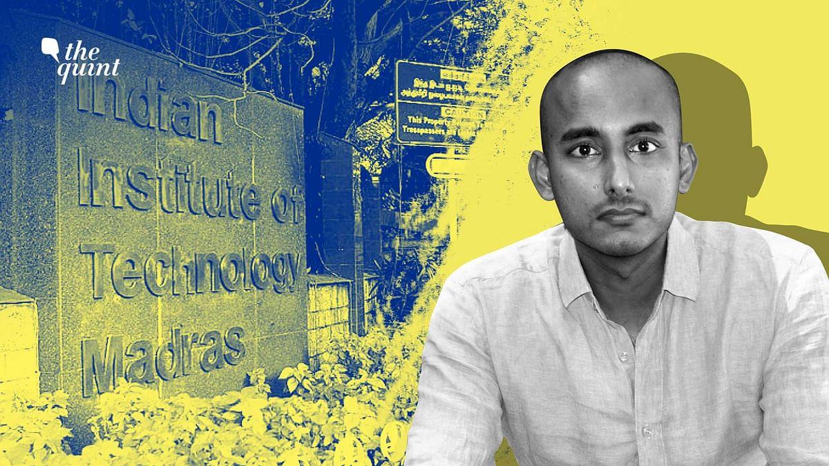 "<div class=""paragraphs""><p>Vipin P Veetil, assistant professor IIT-Madras had quit his job over alleged caste discrimination.</p></div>"