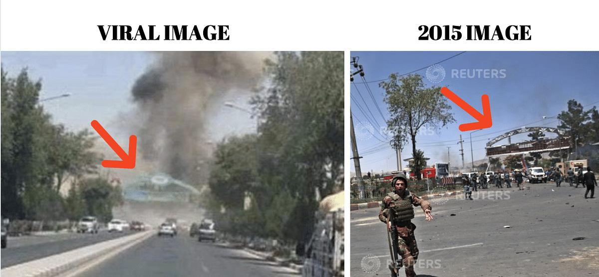 "<div class=""paragraphs""><p>Left: Viral image. Right: 2015 image.</p></div>"