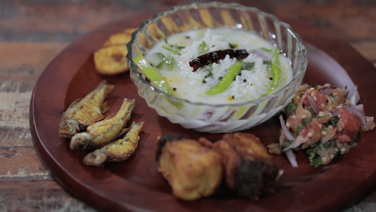 """<div class=""""paragraphs""""><p>Nothing beats the bowl full of Pakhala and variety of accompaniments.&nbsp;</p></div>"""