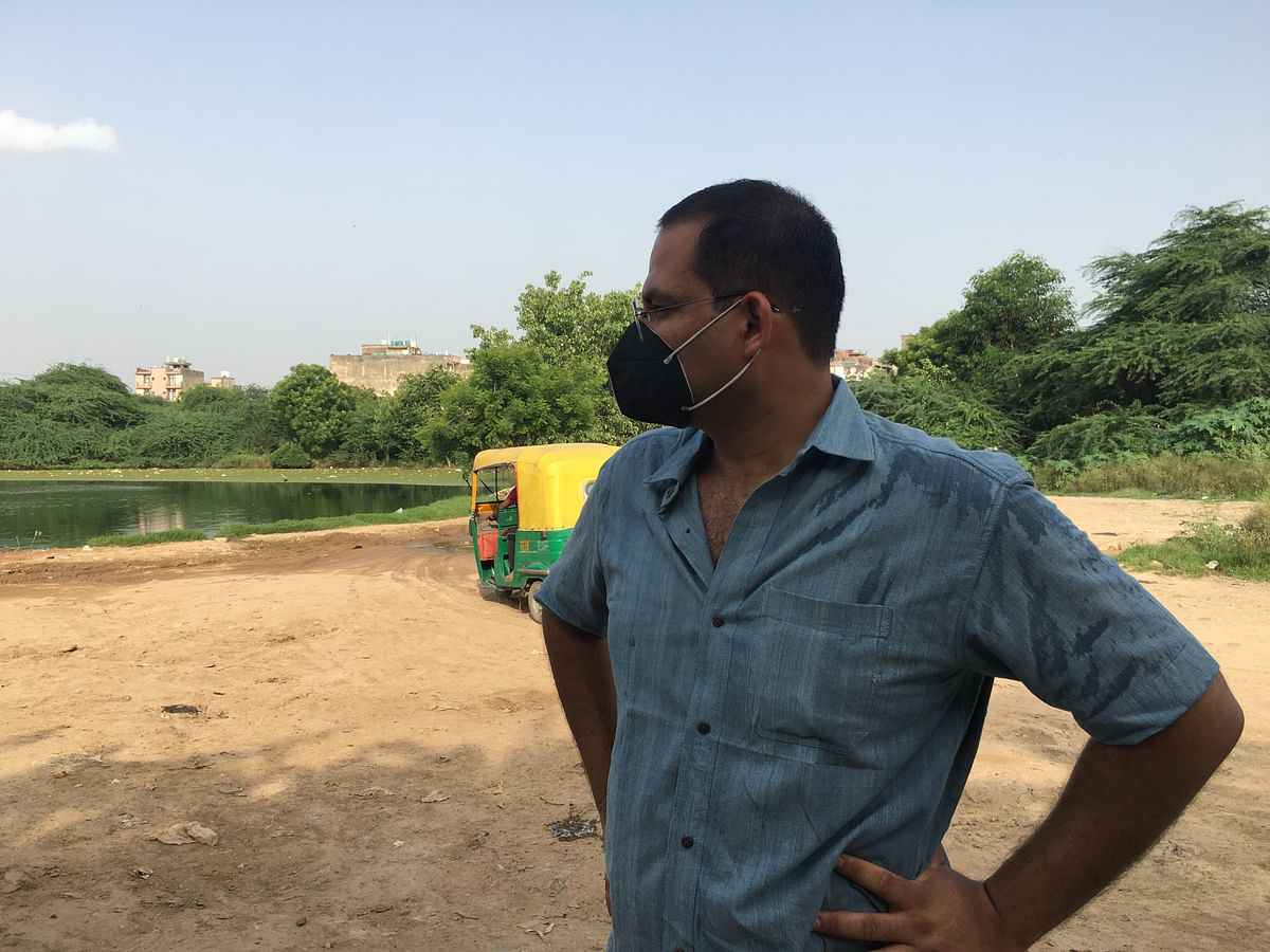 """<div class=""""paragraphs""""><p>Paras Tyagi,&nbsp;co-founder of Centre for Youth Culture Law &amp; Environment</p></div>"""
