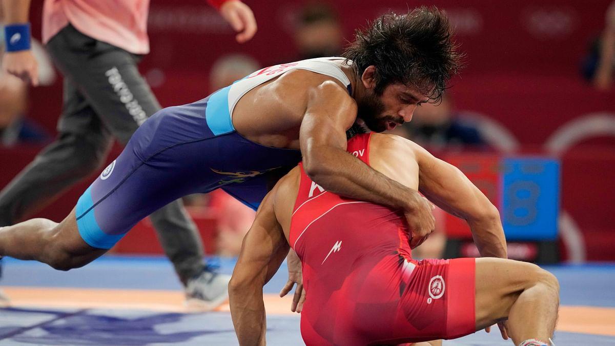 "<div class=""paragraphs""><p>Tokyo Olympics: Bajrang Punia won Bronze</p></div>"