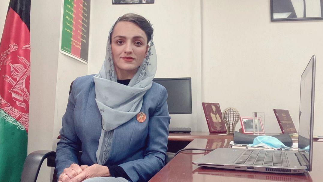 """<div class=""""paragraphs""""><p> Zarifa Ghafari, Afghanistan's First Female Mayor.</p></div>"""