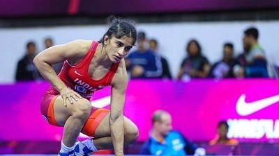 """<div class=""""paragraphs""""><p>Wrestling: Vinesh Phogat was ousted in the Olympics quarter-finals.</p></div>"""