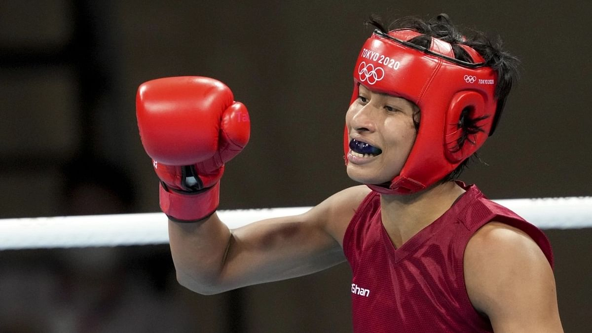 """<div class=""""paragraphs""""><p>Lovlina Borgohain is India's only medallist in boxing at the Tokyo Olympics</p></div>"""