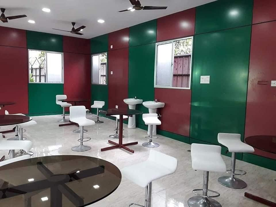 """<div class=""""paragraphs""""><p>With no football, Mohun Bagan canteen was empty</p></div>"""