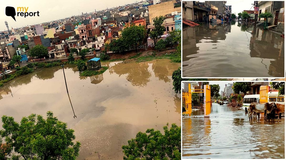 'Roads Near My Home in Loni's Indrapuri Become Swimming Pools During Rains'
