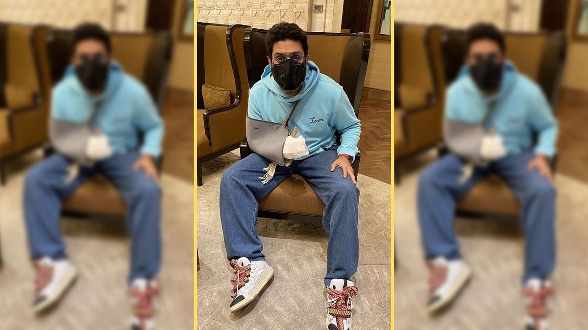 Abhishek Bachchan Undergoes Surgery After 'Freak' Accident; Shares Pic