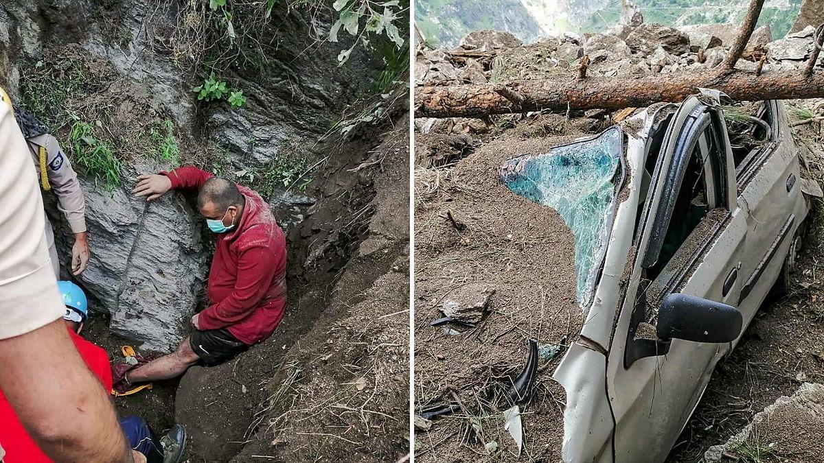 10 Dead, 14 Rescued After Landslide in Himachal's Kinnaur; Several Still Trapped
