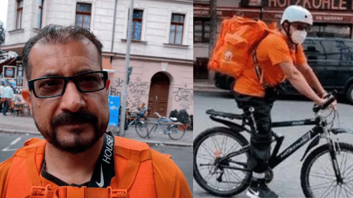 Former Afghanistan Minister Now Works as Delivery Boy, Spotted in Germany
