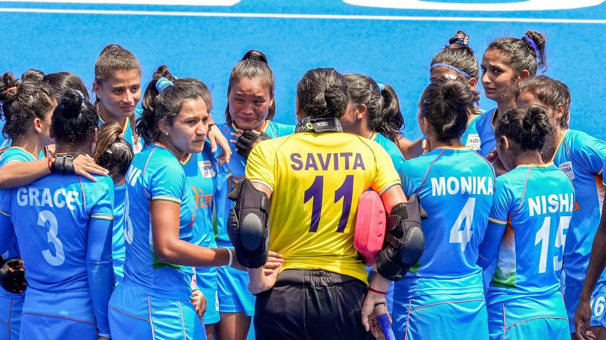 Indian Women's Hockey Team Stand Victorious in Defeat