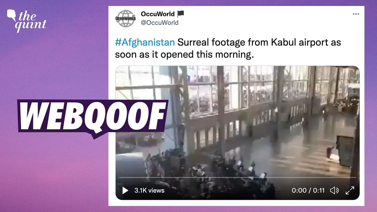 2019 Video From Texas Stadium Falsely Shared as 'Footage From Kabul Airport'