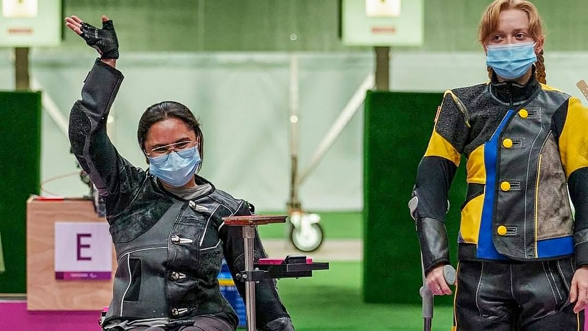 """<div class=""""paragraphs""""><p>Avani Lekhara is the first Indian woman to win a gold medal at the Paralympic Games.</p></div>"""