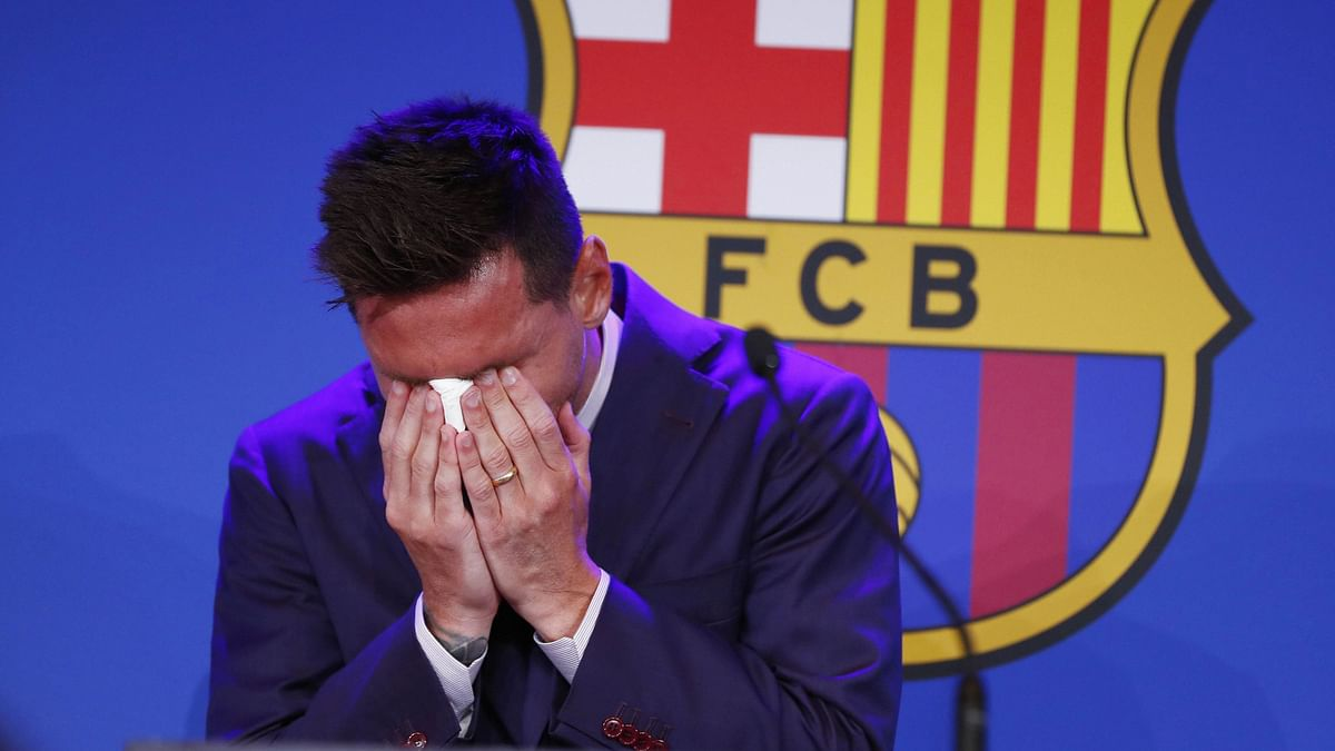 I'm Not Ready for This: Emotional Lionel Messi Bids Farewell to Barcelona