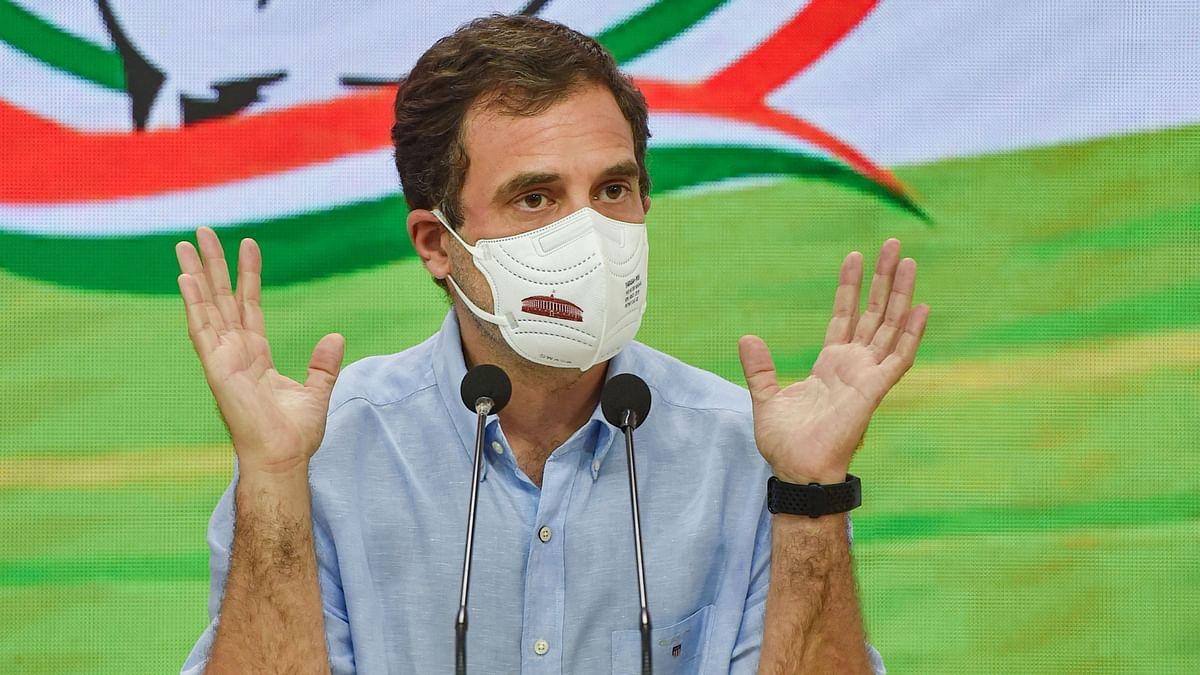 "<div class=""paragraphs""><p>Congress leader Rahul Gandhi.</p></div>"
