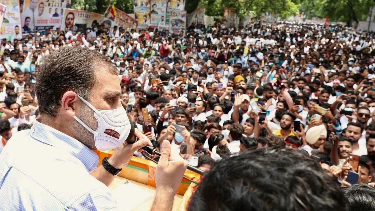 Attack on India's Future: Rahul Gandhi Slams Modi Govt at Delhi Event
