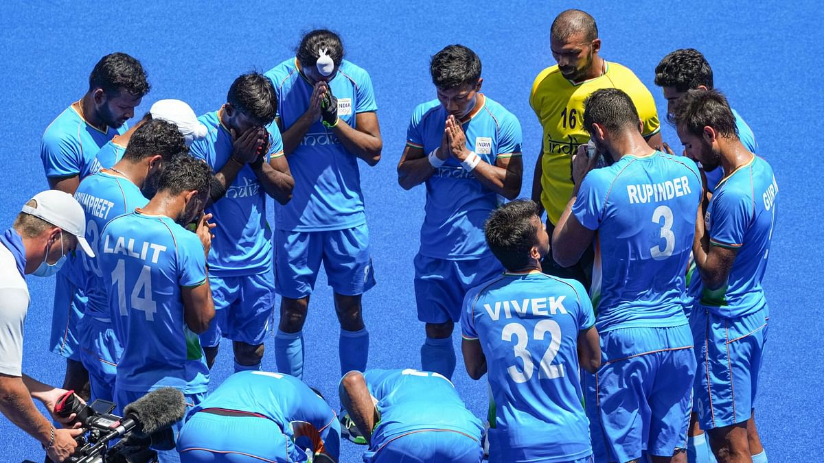 """<div class=""""paragraphs""""><p>Tokyo Olympics: Indian men's hockey team are currently in action vs Germany in their Bronze medal match.&nbsp;</p></div>"""