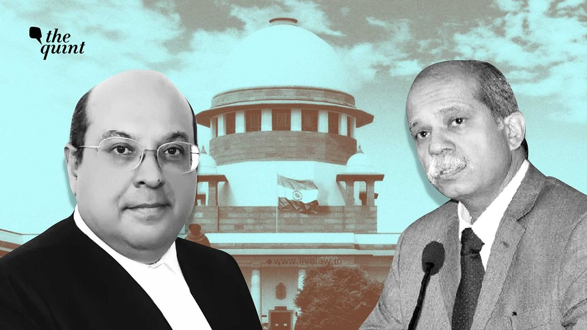 """<div class=""""paragraphs""""><p>Justice Akil Kureshi (R) was left off the list of Supreme Court judge candidates just days after Justice Rohinton Nariman (L) retired.</p></div>"""