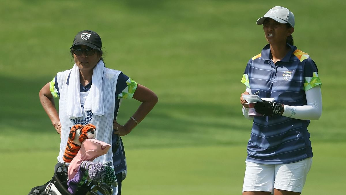 A Family Affair for Golfer Aditi Ashok at Tokyo Olympics