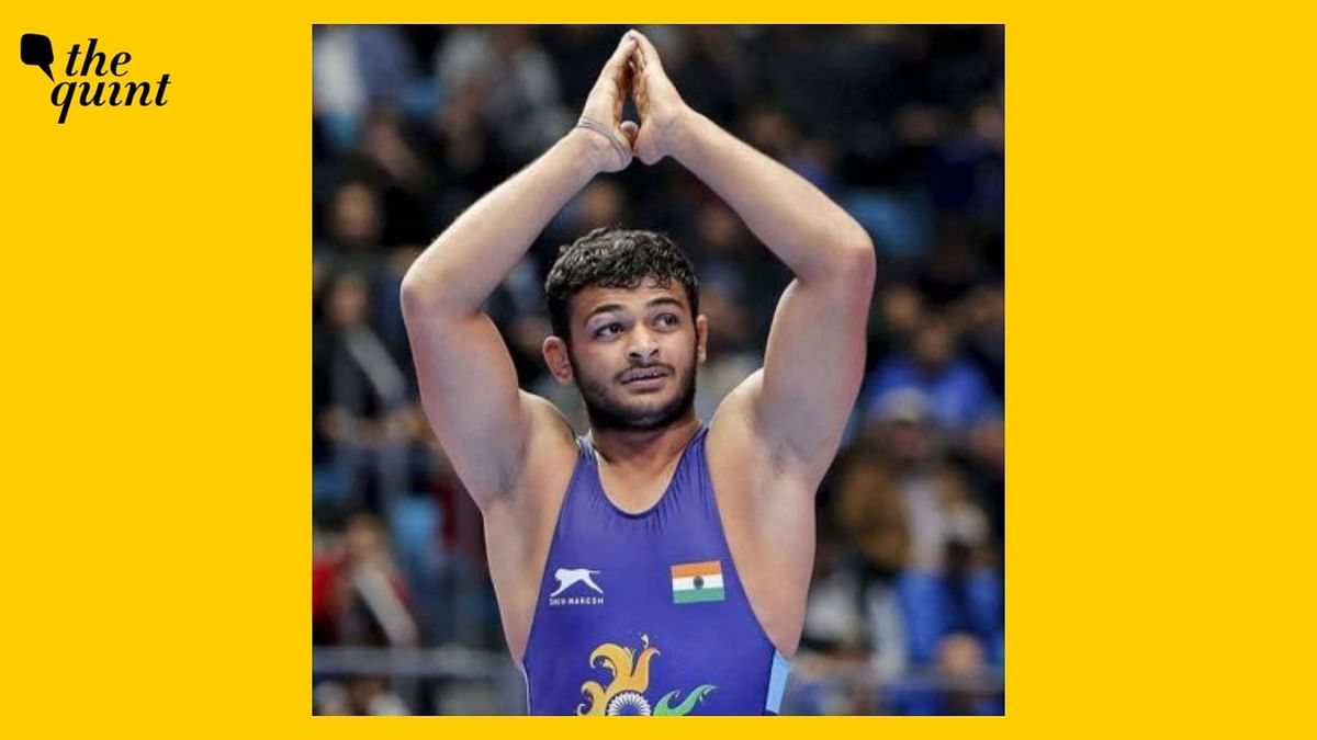 """<div class=""""paragraphs""""><p>Former junior world champion and Indian wrestler Deepak Punia is slated to fight for the bronze medal at the Tokyo Olympics on Thursday, 5 August.</p></div>"""