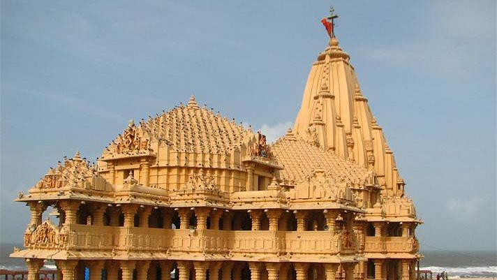 """<div class=""""paragraphs""""><p>The high-octane inauguration-cum-launch of several religio-tourism projects at the Somnath Temple, Gujarat on 20 August was a move on Prime Minister Narendra Modi's part to stake personal claim in 'restoring past glory' of the centuries old temple complex, as well as an event aimed to keep the Hindutva pot boiling by picking a low hanging fruit.</p></div>"""