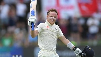 England batsman Ollie Pope released from second Test squad against India