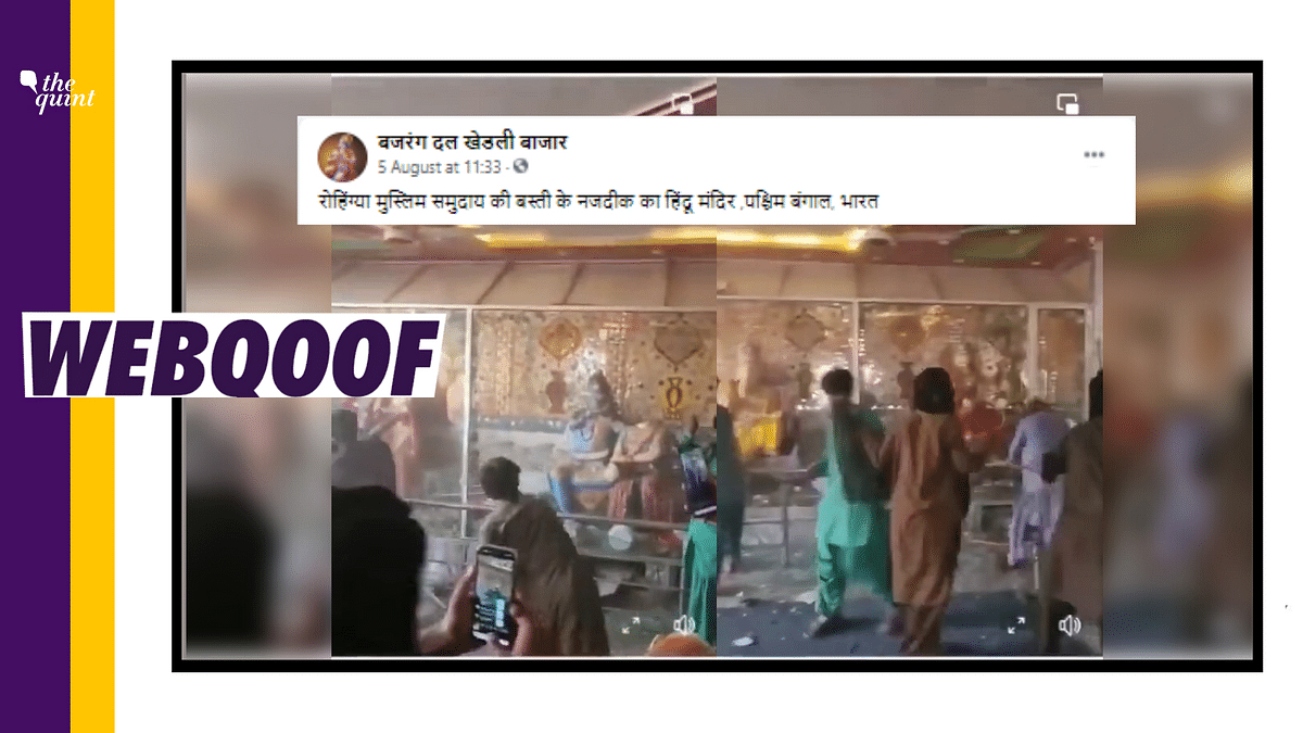 """<div class=""""paragraphs""""><p>The video is actually from Pakistan and does not show Rohingya Muslims in West Bengal.</p></div>"""