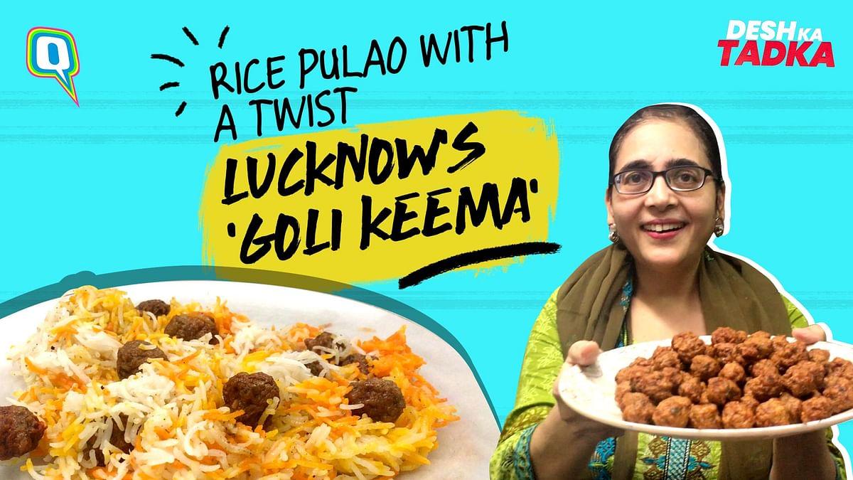 Lucknow's Keema Goli Pulao Recipe | Savory Blend of Koftas & Rice