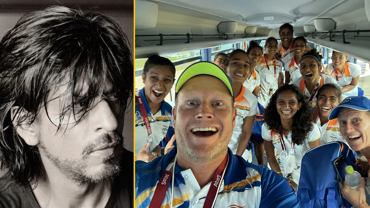 Bring Back Some Gold: SRK to Indian Women's Hockey Team's Coach