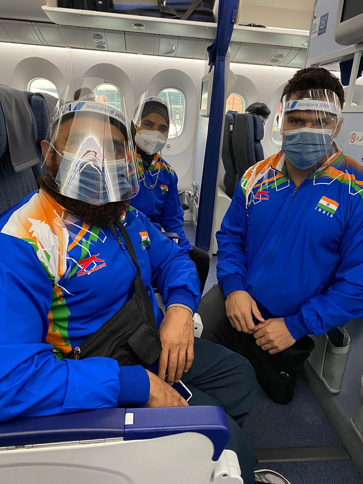 """<div class=""""paragraphs""""><p>Jaideep and Sakina ready get ready for take off</p></div>"""