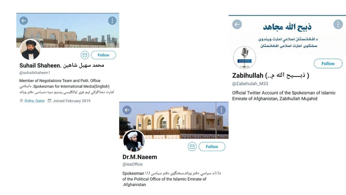 "<div class=""paragraphs""><p>Twitter accounts of Taliban spokesperson.</p></div>"