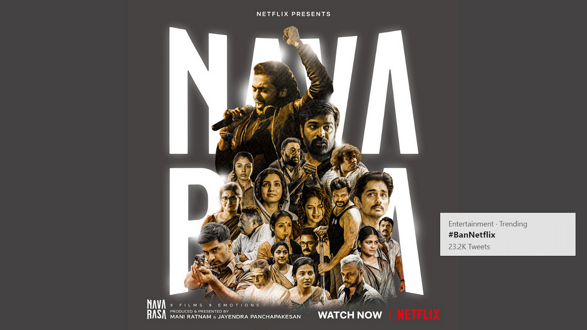 Here's Why Ban Netflix Is Trending on Twitter After Navarasa's Release