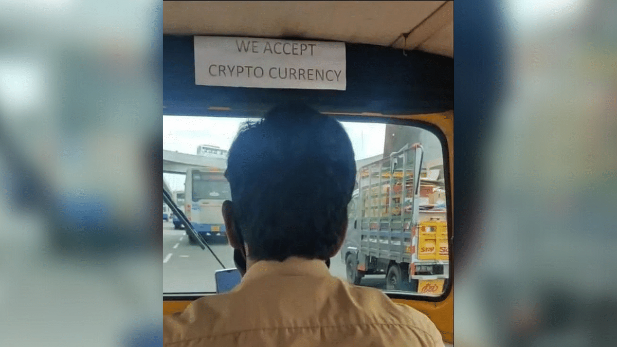 """<div class=""""paragraphs""""><p>Auto driver accepts payment in cryptocurrency.</p></div>"""