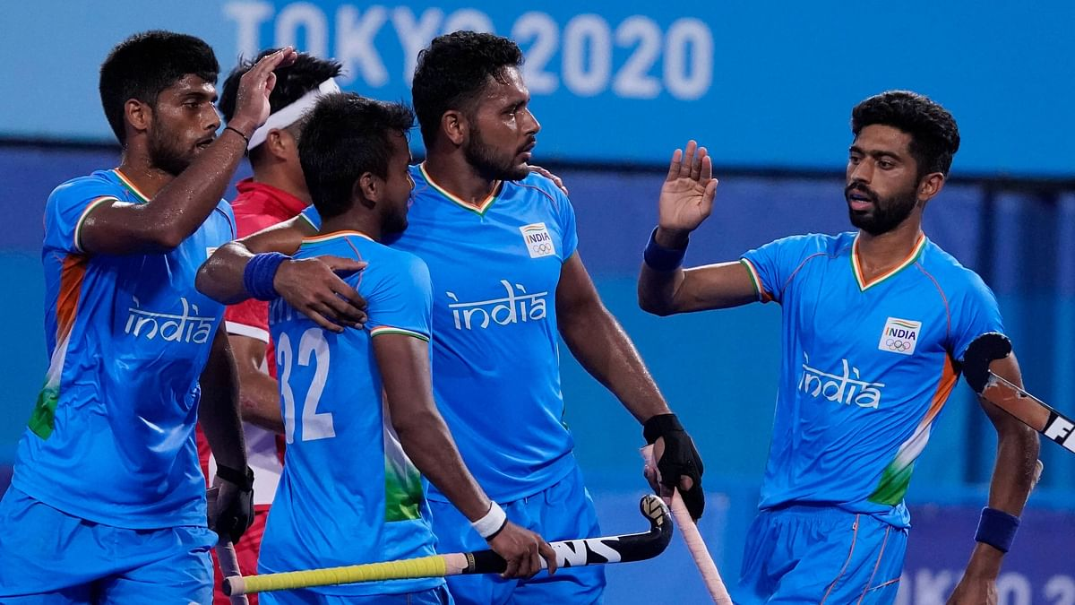"""<div class=""""paragraphs""""><p>Tokyo Olympics: The Indian men's hockey team will play against Belgium in the semi-final on 2 August, Tuesday</p></div>"""