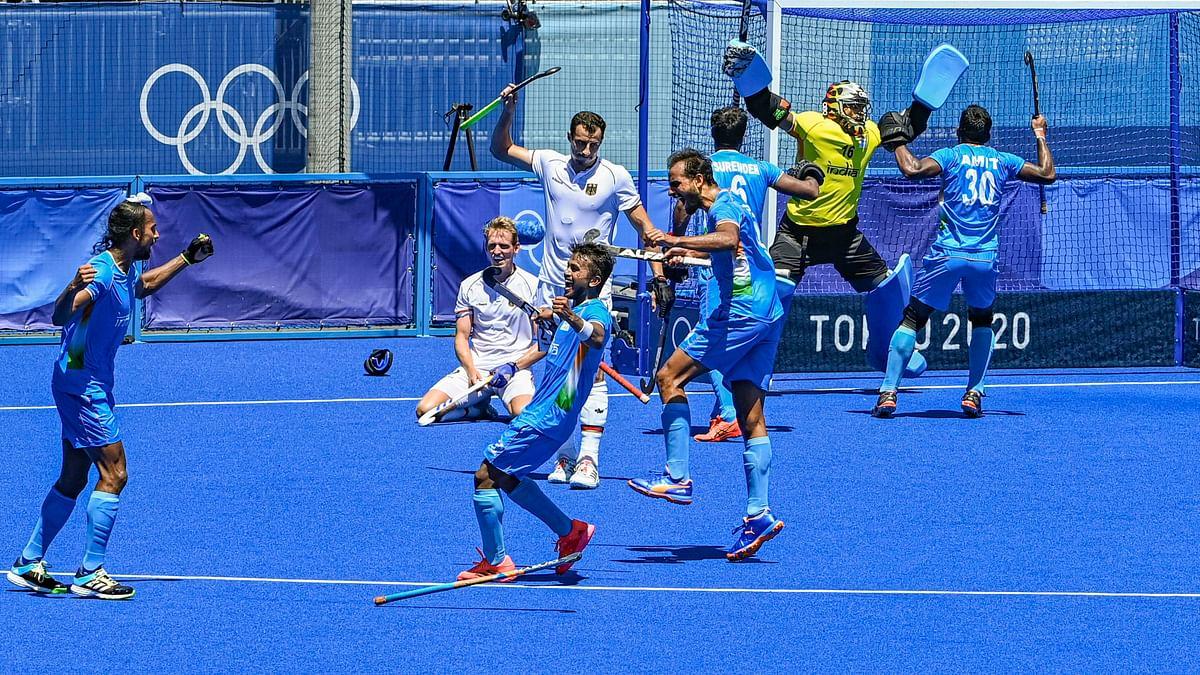 Indian Men's Team Create History; Win Hockey Bronze at Tokyo Olympics