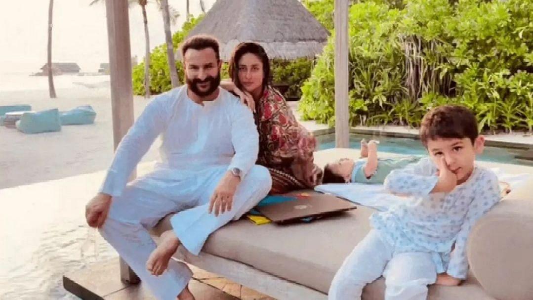 Kareena Kapoor Shares First Pic of Jeh on Saif Ali Khan's Birthday