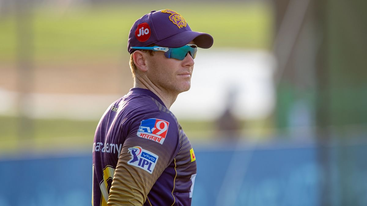"""<div class=""""paragraphs""""><p>KKR skipper Eoin Morgan has been fined for slow over rate.</p></div>"""
