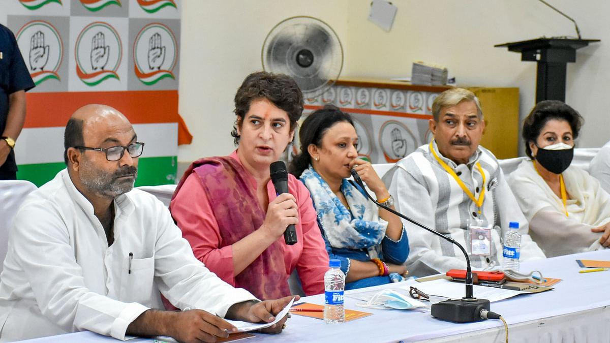 Priyanka Gandhi to Take Out 12,000-km-Long 'Pratigya Yatra' in UP Ahead of Polls