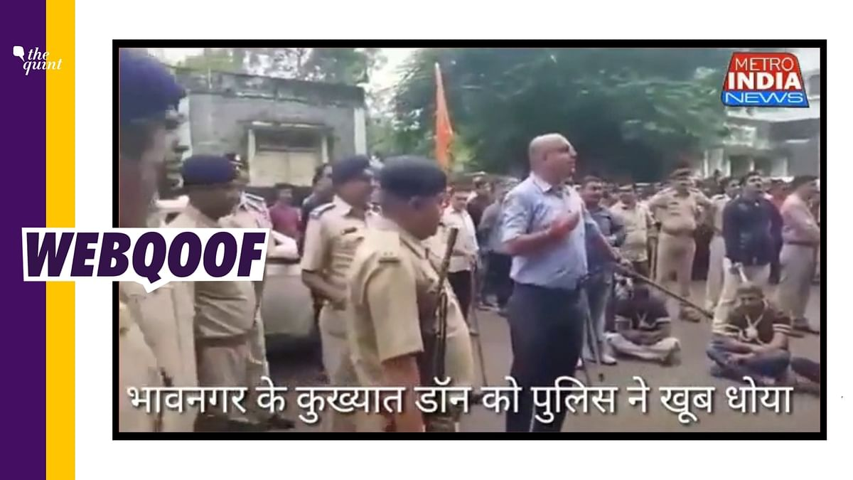 Old Video From Gujarat Shared as Recent After Bhupendra Patel Took Charge