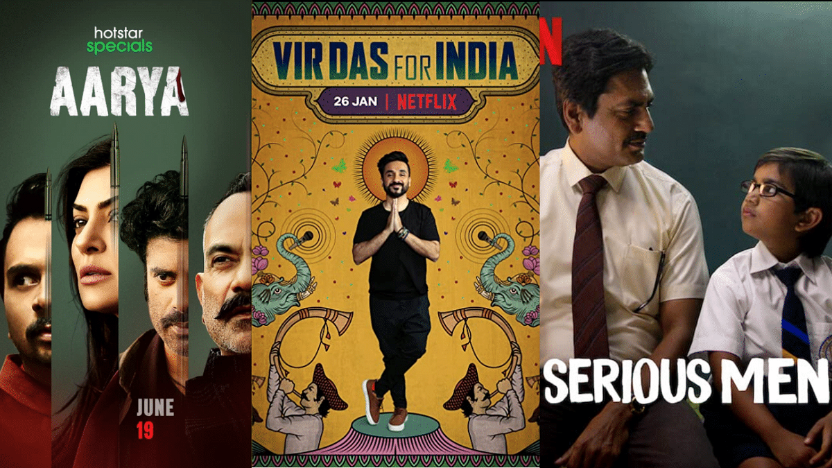 """<div class=""""paragraphs""""><p>Sushmita Sen's&nbsp;<em>Aarya,&nbsp;</em>Vir Das' comedy special, and Nawazuddin Siddiqui were nominated for the International Emmy Awards.</p></div>"""