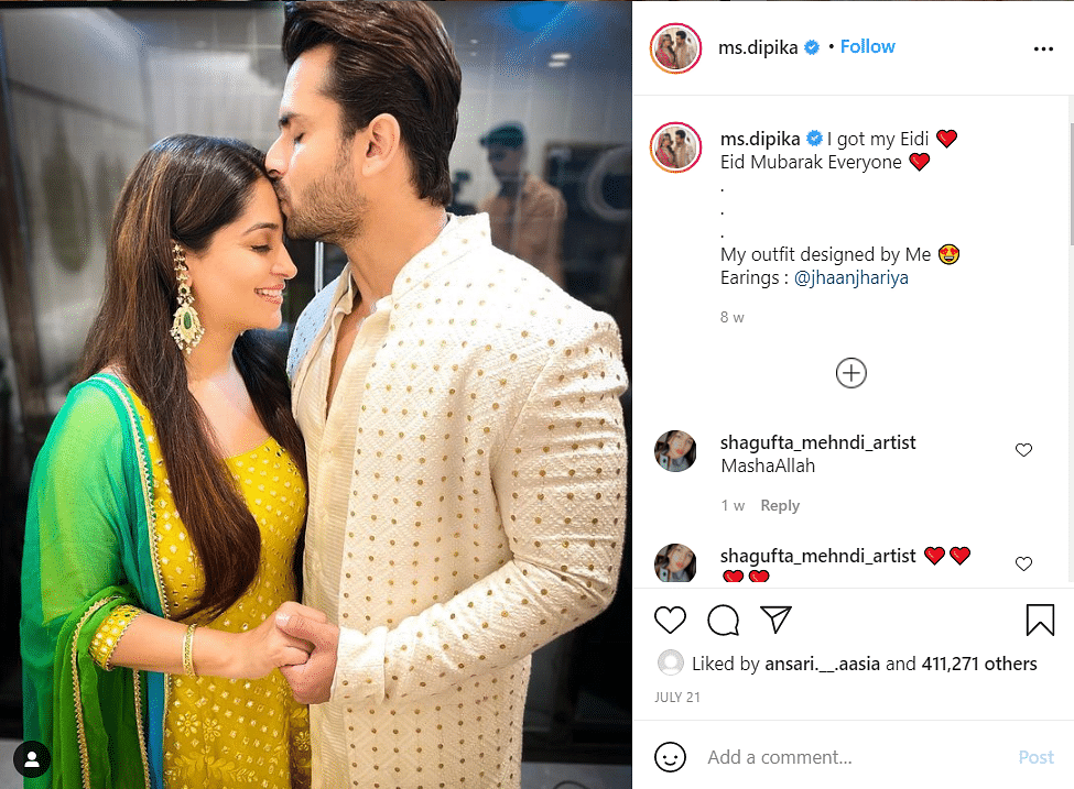 You're Giving Me News About My Life: Dipika Kakar Refutes Pregnancy Rumours
