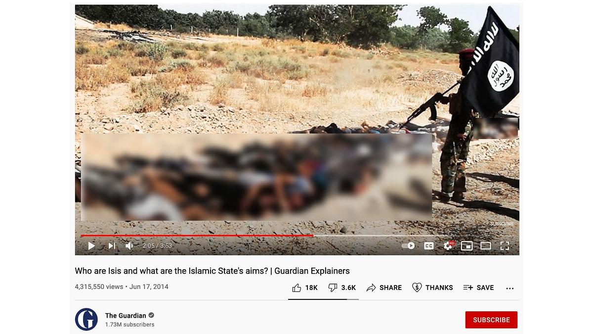"""<div class=""""paragraphs""""><p>Video shows ISIS killings.</p></div>"""
