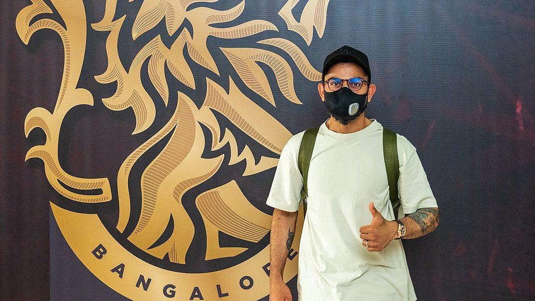 "<div class=""paragraphs""><p>Virat Kohli landed in the UAE on Saturday for the IPL.</p></div>"