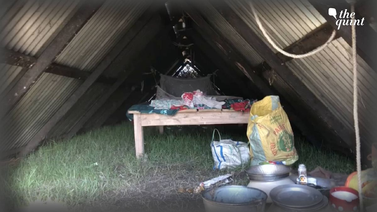 """<div class=""""paragraphs""""><p>The evicted have taken shelter in the makeshift structures for now.&nbsp;</p></div>"""