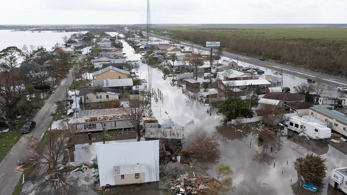 """<div class=""""paragraphs""""><p>Hurricane Ida slammed into Louisiana just outside New Orleans on 29 August 2021.</p></div>"""