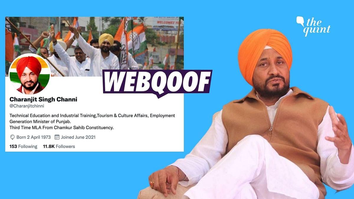 Fake Twitter Accounts in the Name of Punjab CM Charanjit Channi Emerge
